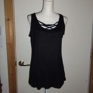 Strappy Front Tank Top L